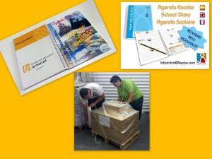 La Fundación Educativa La Merced  encarga sus agendas escolares a LABOR VIVA colaborando así a crear empleo para personas con discapacidad.  Más info: laborviva@feycsa.com